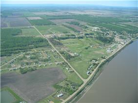 Aerial View from North
