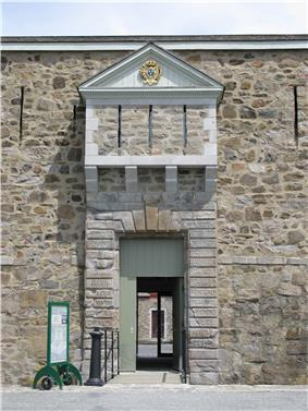 Entrance to Fort Chambly