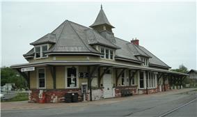 Fort Edward D&H Train Station