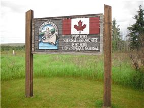 Fort Fork sign