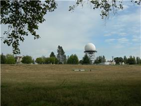Radar Building and Antenna Dome
