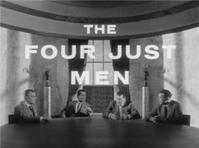 Four Just Men titlecard