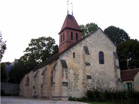 The church in Fourqueux