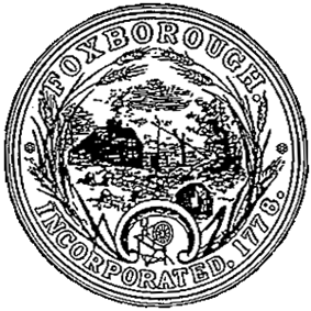 Official seal of Foxborough, Massachusetts