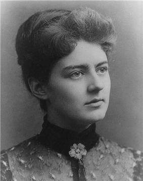 Portrait of Frances Cleveland