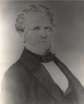 Black and white daguerreotype of Francis Strother Lyon