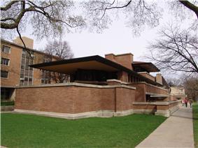 Frank Lloyd Wright - Robie House 2.JPG