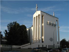 church and parish hall