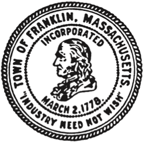 Official seal of Town of Franklin