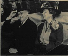 Franklin and Eleanor Roosevelt, November 1935