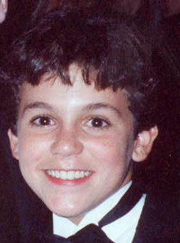 Fred Savage at the Governor's Ball held immediately after the 1990 Emmy Awards 9/16/90 - Permission granted to copy, publish, broadcast or post but please credit