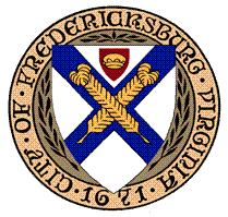 Official seal of Fredericksburg, Virginia