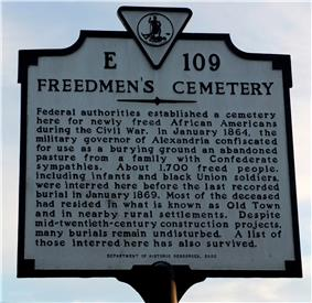 Contrabands and Freedmen Cemetery