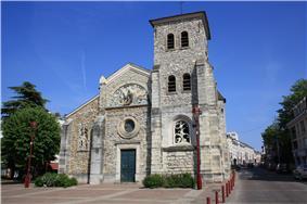 The church of Saint-Éloi, in Fresnes