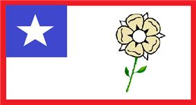 Flag of Pass Christian, Mississippi