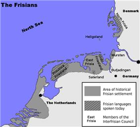 Frisian settlement area (Frisian Coast)