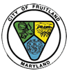 Official seal of Fruitland, Maryland