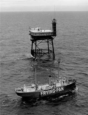 Frying Pan Shoals Lightship No. 115