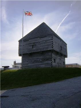Blockhouse at Fort Howe