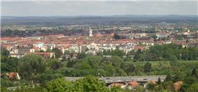 South part of the city, seen from the