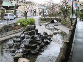 Furukawa Waterside Park in Edogawa