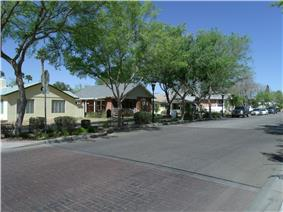 Glendale Townsite-Catlin Court Historic District