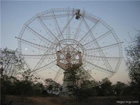 Giant Metrewave Radio Telescope (GMRT) near Narayangaon