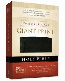 A presentation edition of a GOD'S WORD bible