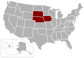 Great Plains Athletic Conference locations