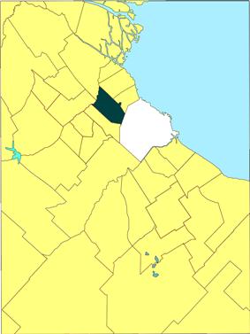 location of General San Martín Partido in Gran Buenos Aires