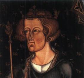 Painting of Edward I