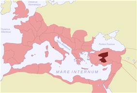 Location of Galatia