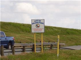 Galena Park sign