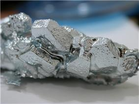 Image: Gallium crystas