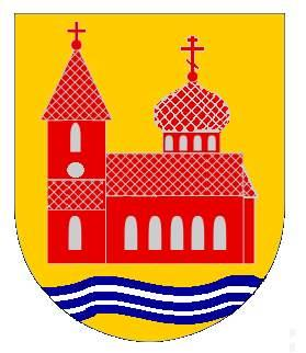 Unofficial coat of arms of Gammalsvenskby by Christopher-Joseph Ravnopolski-Dean