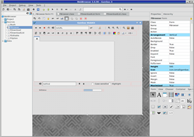 Gambas 3.3.4 running on Fedora 16 with Xfce