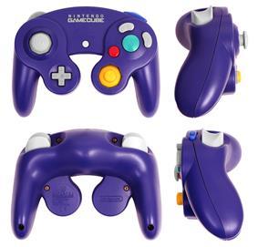 Purple GameCube controller breakdown