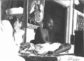 Abbas Tyabji and Mahatma Gandhi