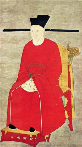 Emperor Gaozong's portrait