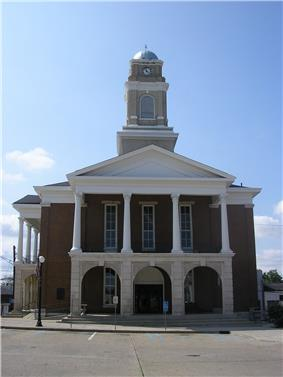 Garrard County courthouse in Lancaster