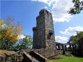 Lambert Tower in Garret Mountain Reservation