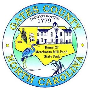 Seal of Gates County, North Carolina