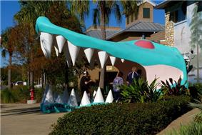 Entrance to Gatorland