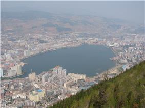 Gejiu from the southeast