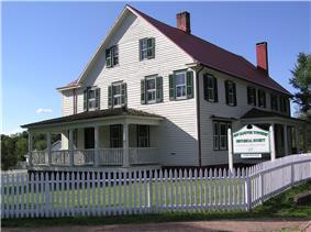 Gen. Edward S. Godfrey House on Main Street in Cookstown