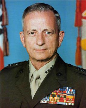 color photograph of Robert H. Barrow