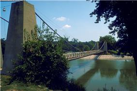 General Dean Suspension Bridge