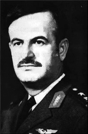 Mustachioed man in military uniform