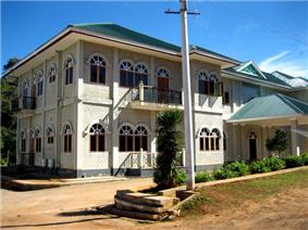 A high-ranking general's villa overlooking the golf course in Kalaw. Burma's economy is controlled greatly by high-ranking military officials.