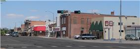 Downtown at 10th North and M Street